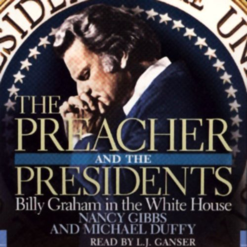 The Preacher and the Presidents audiobook cover art