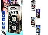 JPWonline - Digivolt - Altavoz bluetooth HiFi con función karaoke 16BT CITY