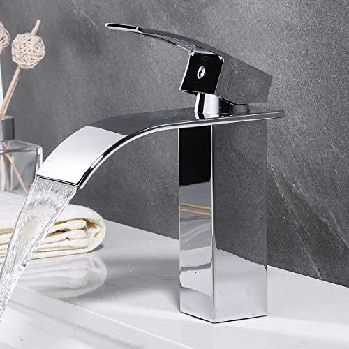 Ideko Robinet Mitigeur lavabo Cascade & Flexible