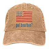 N/A Sombreros Sombrilla Al,Sombrero De Sol,Sombrero De Deporte,Dad Hat,Ocio Sombrero,Gorra De Béisbol Ajustable Got Bourbons Denim Jeanet