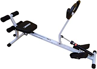 Rowing Machine for Home Use Foldable, Hydraulic Rowing Machine Indoor Rower Abdominal Fitness Equipment, 10 Resistance Adj...