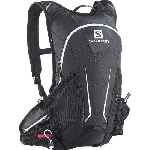 SALOMON Agile 12 Set Backpack, Black/White,