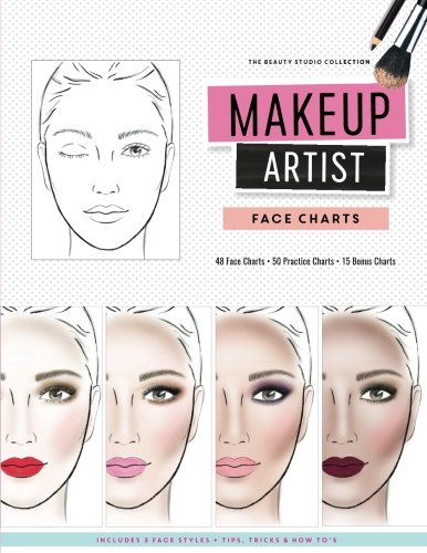 Makeup Artist Face Charts (The Beauty Studio Collection, Band 1)