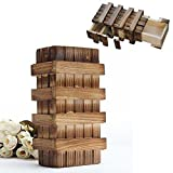 Generic Magic Compartment Wooden Puzzle Box With Secret Drawer Brain Teaser