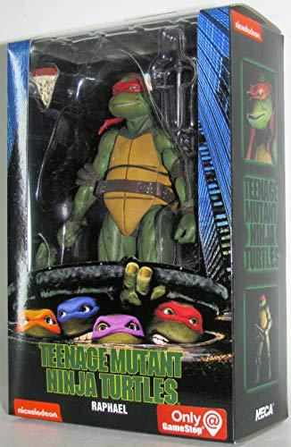 Teenage Mutant Ninja Turtles 90's Movie Raphael 6.5-inch Action Figure by NECA Reel Toys 2019 GameStop Exclusive ...