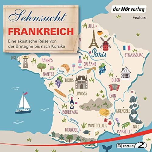 Sehnsucht Frankreich  By  cover art