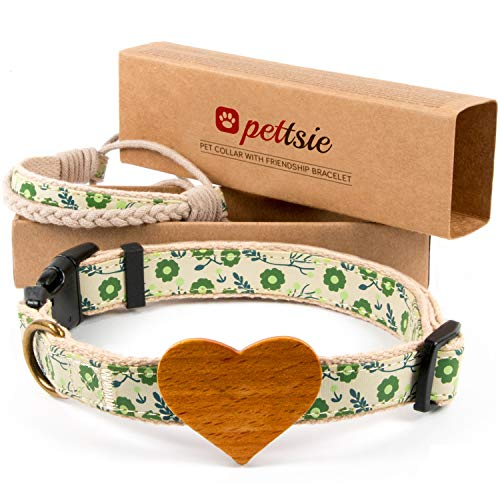 Matching Dog Collar Heart & Owner...