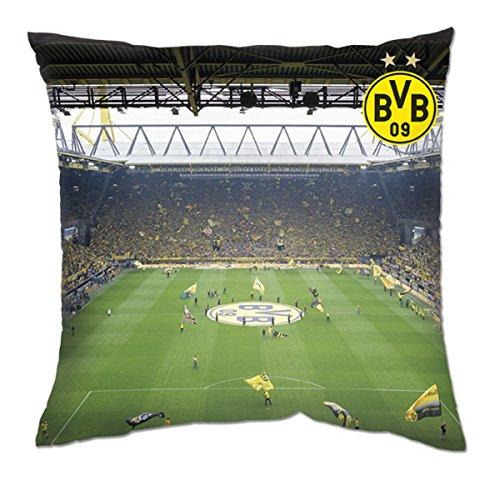 Borussia Dortmund BVB Zuidtribne, kussen 40 x 40 cm