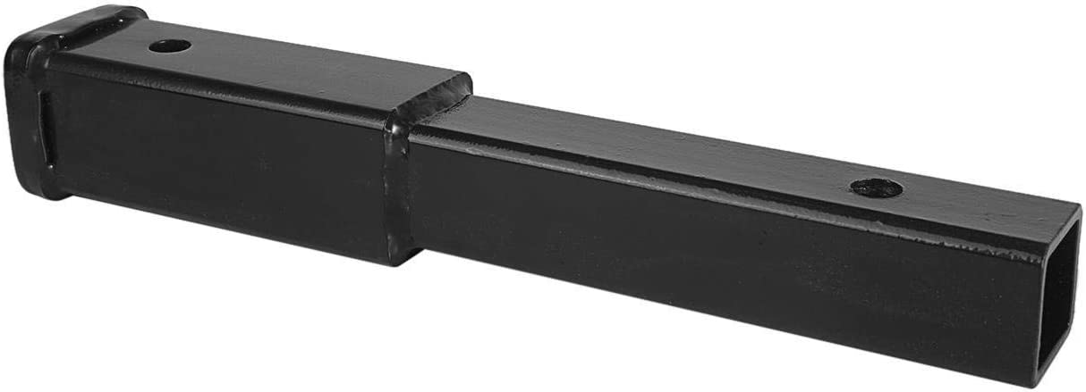 """Partol 8 Trailer Hitch Extension with 2/"""" Receiver Tube Extender 5//8 Pin Hole 6000 LBS"""
