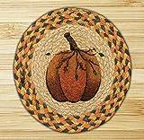Earth Rugs Trivet, 10-Inch, Pumpkin