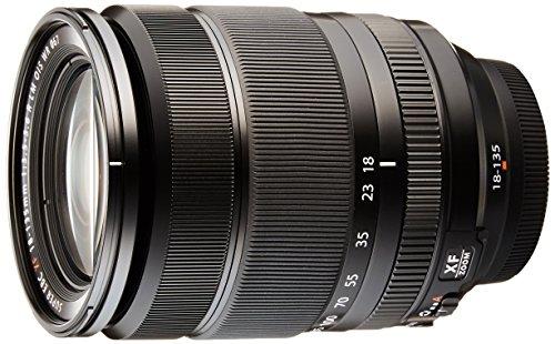 Fujifilm Fujinon - XF18-135mm F3.5-5.6 R OIS WR (Distancia Focal 18-135mm, Apertura f/3.5-5.6, Zoom óptico 7.5X,estabilizador óptico, diámetro: 67 mm), Negro