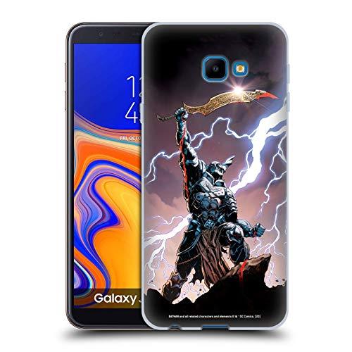 Head Case Designs Oficial Batman DC Comics El Misericordioso Los Caballeros Oscuros Carcasa de Gel de Silicona Compatible con Samsung Galaxy J4 Core