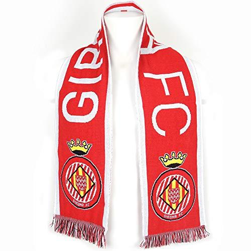 Girona FC sjaal Vermella rood, unisex volwassenen, rood, eenheidsmaat