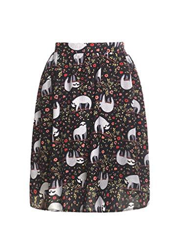 Sloth Midi Skirt