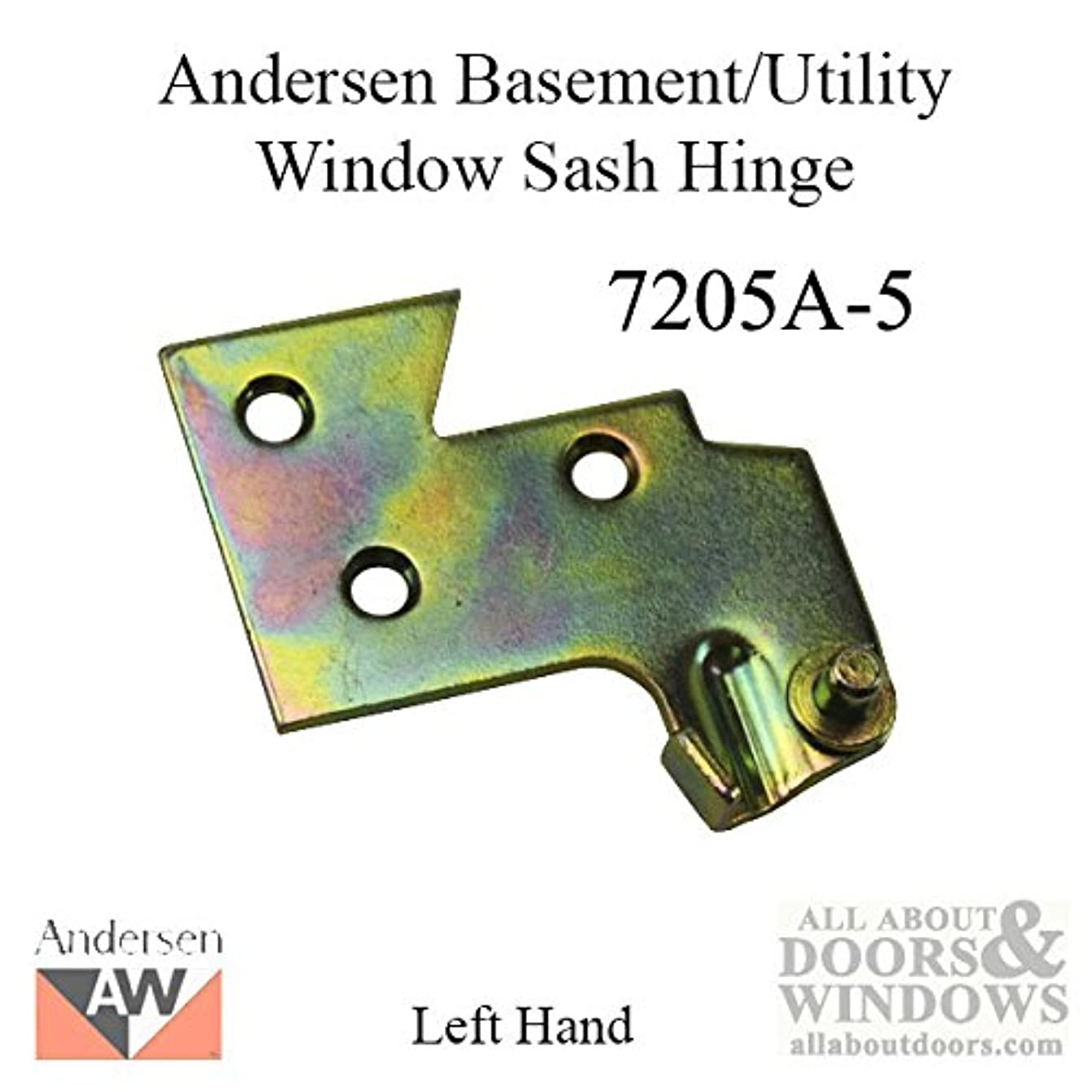Sash Hinge - Right 7205-5 Andersen Basement/Utility window