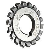 L-Yune-wj Modulo 0.5 M0.5 Gradi PA20 Alesaggio 16mm # 1-8 HSS Fresa a Ingranaggi Conici a Spirale Fresa ad Alta velocità for Utensili da Taglio in Acciaio (Cutting Edge Diameter : 8)