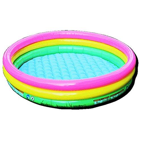 Baignoire gonflable piscine de couleur piscine jouets gonflables pour enfants bébé boule de l'océan boule de vague piscine de pêche pliant matériel de pvc favorable à l'environnement aucune odeur