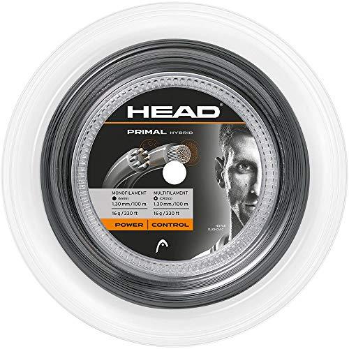 HEAD Tennissaite Primal Hybrid 16 Reel 1,3mm grau (231) 1,3