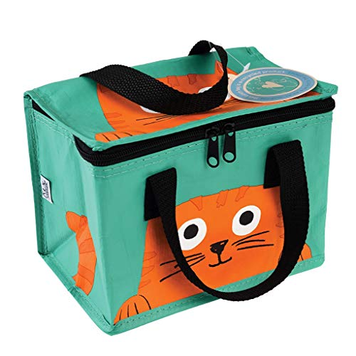 Rex London Mini-Kühltasche: Isolierte Snacktasche Chester The Cat