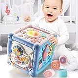 Kinder Hexahedral Multifunktionsspielzeug Baby Handtrommel Schreibtisch Desktop Früherziehung Musik Lerntisch