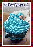 Strickanleitung - KP295 - nordische Babydecke mit Mütze