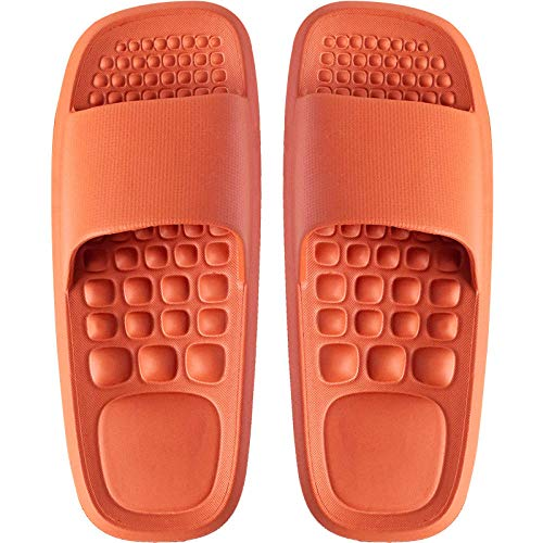 Ciabatte Infradito Pantofola Sandali Pantofole Donna Home Bagno Bagno Pantofole Antiscivolo Pantofole Resistenti Pantofole Interne-Rot_39-40