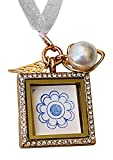 Harper Olivia Rose Gold Bridal Bouquet Photo Charm Missing You As I Walk Down The Aisle Wedding Memorial Gift