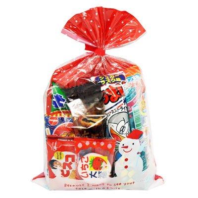クリスマス袋 295円 お菓子 詰め合わせ (Bセット) 駄菓子 袋詰め おかしのマーチ