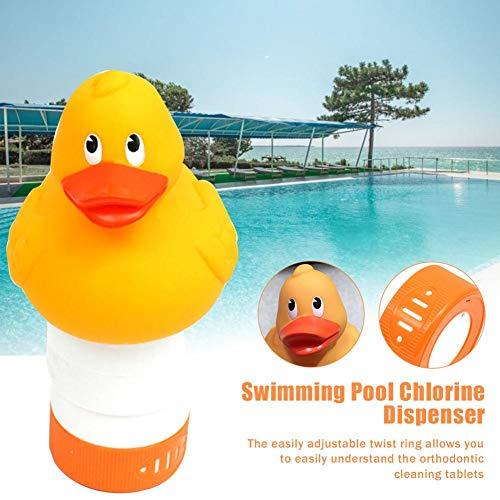 briskay Pool Chlorinator Swimming Pool Floating Chlorine Dispenser Animal Chlorine Floater for Chemical Tablets