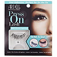 Ardell Press On Lashes with Adhesive Pipette - 120 Black