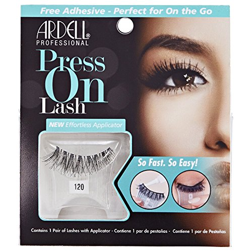 ARDELL Press On Lash with Adhesive Pipette 120 Black Faux-cils