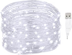 String Licht LED Aangedreven Kerst Devoratie Roze Waterdicht Koper met Afstandsbediening Timer voor Slaapkamer Party Outdo...