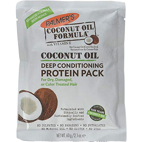Palmers Coconut Hair Oil Formula With Deep Hair Conditioning Protein Pack ,...