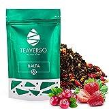 TEAVERSO Balta Oolong Tee mit Preiselbeere, Erdbeere Melone Orange, Hochwertiger Chinesischer Tee,...