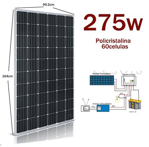 Solarplatte 275 Solarpanel Monocrystalline 60 Zellen