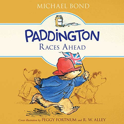 Paddington Races Ahead audiobook cover art