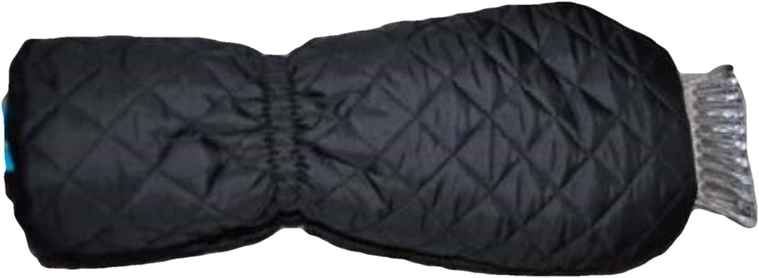 Tek Gear Womens Winter Quilted Ice Scraper Fabric Glove, one size