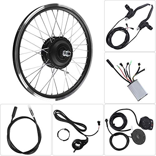 "ZLM 36V / 48V 350W Elektronisches Bike Conversion Kit Motor KT900S LED-Anzeige 26 ""Rad-Elektro-Bike Conversion Kit Elektrosatz,36V Front Motor"