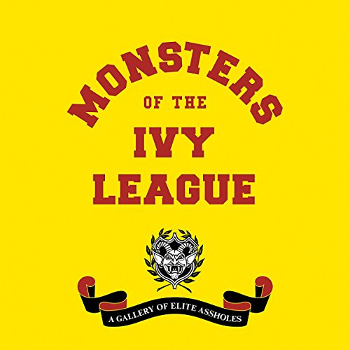 Monsters of the Ivy League audiobook cover art