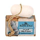 Jabón Zorro D'Avi | Desodorante Piedra de alumbre con Cuerda | 120 gr | Desodorante Natural y...
