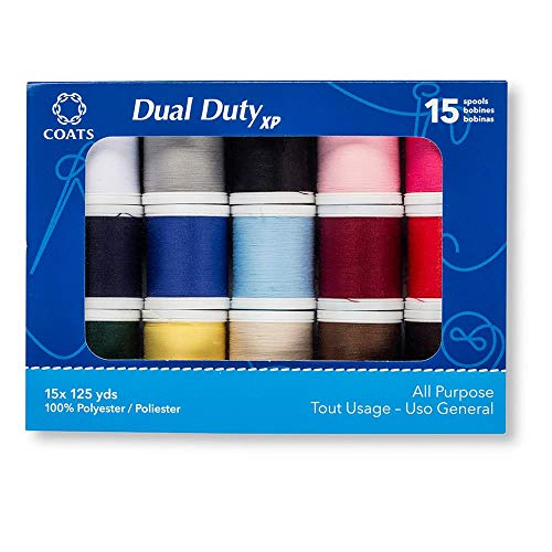 Coats 15 Spool Assortment Thread