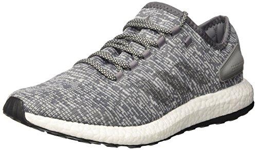 adidas Pure Boost, Scarpe da Corsa Uomo, Grigio (Grey/Dgh Solid Grey/Clear Grey), 40 EU
