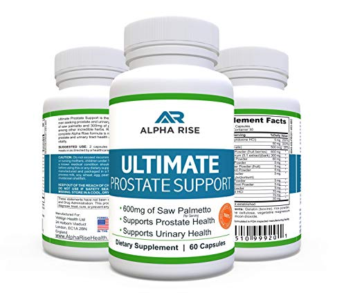 TERMINATE PROSTATE PROBLEMS & AVOID EMBARRASSMENT within weeks and keep them at bay for life, simply by following our Alpha Rise natural prostate health regimen! We offer the leading prostate health supplements for men, which along with the correct p...