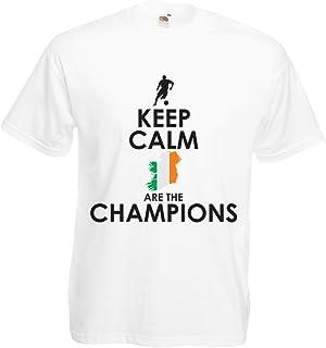 lepni.me T Shirts for Men Keep Calm, Irish are The Champions