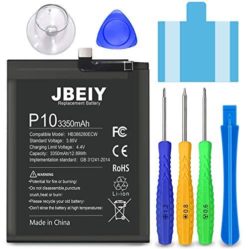JBEIY Bateria para Huawei P10/ Honor 9, Nueva Baterías de Polímero de Litio de Alta Capacidad de 3350 mAh, con Herramientas de Instalación Profesionales-1 año de Garantía