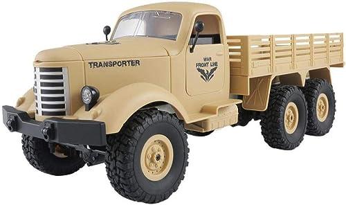 online barato Prevently Toy Juguete Juguete Juguete para camión de RC, JJRC Q60 RC 1 16, Mando a Distancia DE 2,4 G de 6 WD, Seguimiento de camión Militar, Juguete RTR + Dos Pilas  70% de descuento