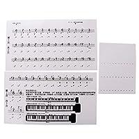 #N/A ピアノを学ぶために設定された88キーまでのキーボード/ピアノステッカー
