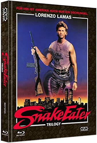 Snake Eater Trilogy [3 Blu-Ray] - uncut - auf 333 Stück limitiertes Mediabook Cover A