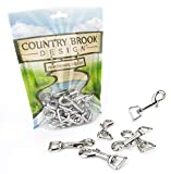 10 - Country Brook Design | 5/8 Inch Swivel Snap Hooks