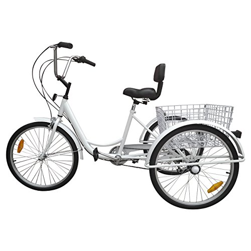 "Paneltech Triciclo para adultos 24 "" 6 velocidades"